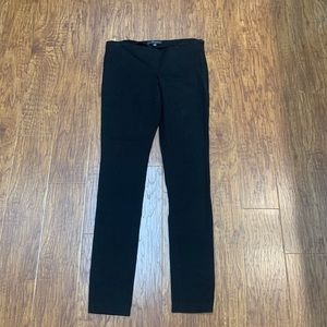 Banana Republic stretch black skinny pants legging